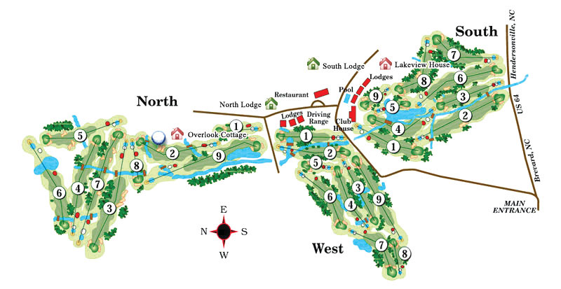 Etowah Valley Golf Course, located near Asheville, North Carolina in Etowah, North Carolina.