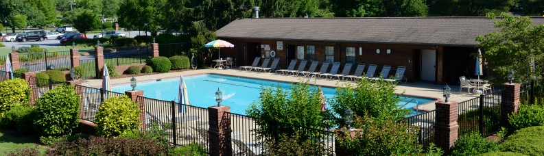 Swimming Pool at Etowah Valley Golf Course in North Carolina