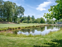 Golf Course with Pond